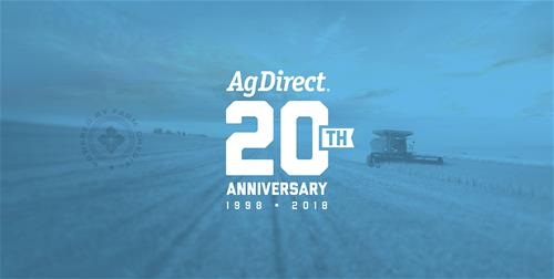 AgDirect Celebrates 20 Years of Simple, Fast and Flexible Financing